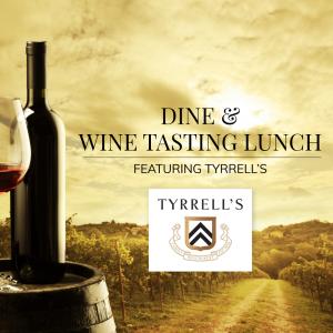Tyrrell's Wine Tasting Lunch