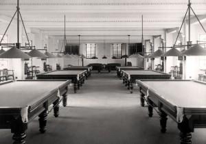 NSW Masonic Club History - Snooker Room