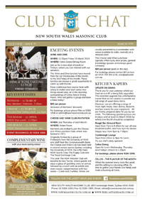 Club Chat, Issue 19 March 2019