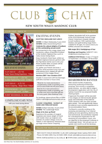 Club Chat, Issue 20 June 2019