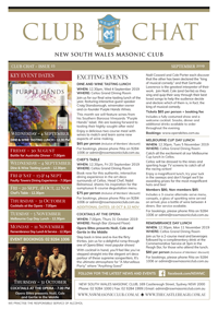 Club Chat, Issue 23 September 2019