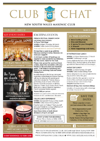 Club Chat, Issue 32 March 2021