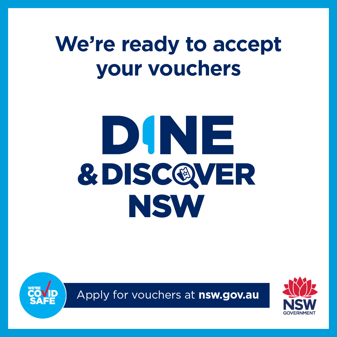 Dine & Discover Accepted Here